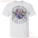 September Woman The Soul Of A Mermaid T-Shirt