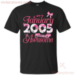 Since January 2005 Born To Be Awesome T-Shirt