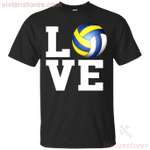 Love Volleyball Gift Men Women Volleyball Lovers T-Shirt