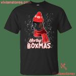 Merry Boxmas Boxer Dog Lover Christmas T-Shirt