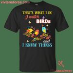 That's What I Do I Watch Birds Funny Birding T-Shirt
