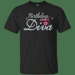 Diva Birthday April Diamond Pink T-Shirt