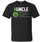 Huncle Funny Hunting Uncle Definition - Hunter Lover T-Shirt