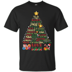 You Are The Happy Of My Holiday -  Love My Wife Christmas Tree T-Shirt