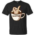 Sloffee Funny Sloth Coffee For Coffee Lover T-Shirt