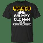 Warning Grumpy Old Man Vintage T-Shirt
