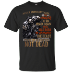 Never Underestimate The Anger Of An Old Man Born In January T-Shirt-Vivianstores