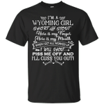 I'm A Wyoming Girl Short And Stout T-Shirt