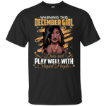 Warning This December Does not Play Well Stupid People T-Shirt