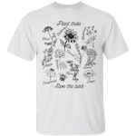 Plant These Save The Bees Floral Flower T-Shirt