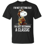 Funny Snoopy I'm Not Getting Old I'm Just Becoming A Classic T-Shirt-Vivianstores