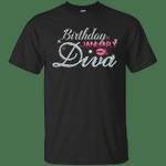 Diva Birthday January Diamond Pink T-Shirt