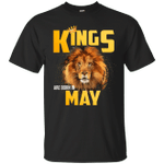 Lion Kings Are Born In May T-Shirt