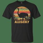 Vintage Allegedly Ostrich T-Shirt Letterkenny Tee Fan Gift Idea