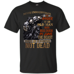 Never Underestimate The Anger Of An Old Man Born In June T-Shirt-Vivianstores