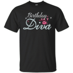 Diva Birthday July Diamond Pink T-Shirt