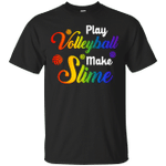 Play Volleyball Make Slime Watercolor T-Shirt
