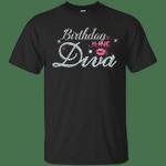Diva Birthday June Diamond Pink T-Shirt