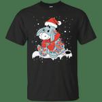 Eeyore Winnie The Pooh Merry Christmas T-Shirt