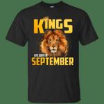 Lion Kings Are Born In September T-Shirt
