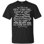 I'm A New York Girl Short And Stout T-Shirt