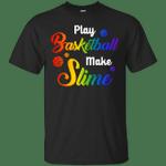 Play Basketball Make Slime Watercolor T-Shirt
