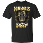 Devil Lion Kings Are Born In May T-Shirt