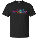 January 1979 40th Birthday Colorful Graphic T-Shirt