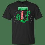 Elf Mom Costume Matching Christmas T-Shirt-Vivianstores
