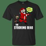 The Stocking Dead Funny Santa Merry Christmas T-Shirt