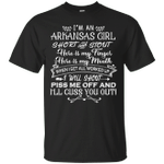 I'm An Arkansas Girl Short And Stout T-Shirt