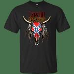 Lynyrd Skynyrd  - Rebel Skull Overdyed T-Shirt