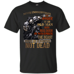 Never Underestimate The Anger Of An Old Man Born In November T-Shirt-Vivianstores
