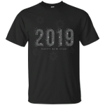 Happy New Year 2019 Sparkle Firework T-Shirt-Vivianstores