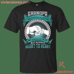 Grandpa And Granddaughter Not Always Eye To Eye T-Shirt