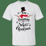 Snowman I'm Dreaming Of a White Christmas T-Shirt-Vivianstores