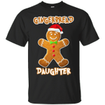 Gingerbread Daughter Matching Family Funny Christmas T-Shirt-Vivianstores