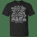I'm A Hawaii Girl Short And Stout T-Shirt