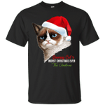 Grumpy Cat's Worst Christmas Ever This Christmas T-Shirt-Vivianstores