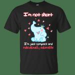 Cute Elephant I'm Not Short Funny T-Shirt