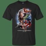 Stan Lee Superheroes Thanks For Memories T-Shirt