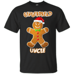 Gingerbread Uncle Matching Family Funny Christmas T-Shirt-Vivianstores