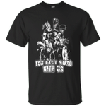 Naruto You Can't Stand With Us T-Shirt