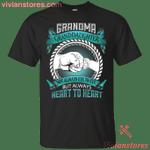 Grandma And Granddaughter Not Always Eye To Eye T-Shirt