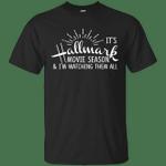 It's Hallmark Movie Season Christmas T-Shirt-Vivianstores