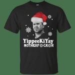 Yippee Ki Yay Mother Fucker Christmas T-Shirt-Vivianstores