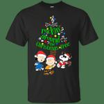 Snoopy - Rockin' Around The Christmas Tree T-Shirt-Vivianstores