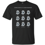 Funny Star Wars Emoji Expressions Of Stormtroopers T-Shirt-Vivianstores