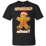 Gingerbread Mommy Matching Family Funny Christmas T-Shirt-Vivianstores