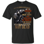 Never Underestimate The Anger Of An Old Man Born In March T-Shirt-Vivianstores